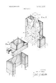 patent us3721225 factory fabricated fireplace construction