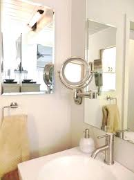 wall mounted magnifying mirror with light magnifying bathroom mirror wall mounted magnifying mirror bathroom