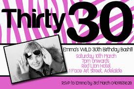40th birthday invitations templates ideas 30th birthday