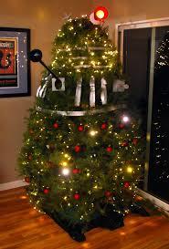 doctor who dalek themed tree geektyrant
