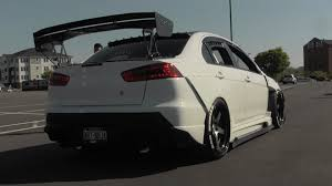 modified mitsubishi widebody mitsubishi evo x gsr modified youtube