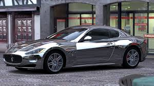 chrome maserati silver chrome paint