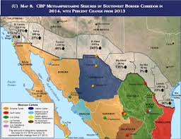 Mexico Wall Map The Wall Building A Continuous Usmexico Barrier Would Be A Tall