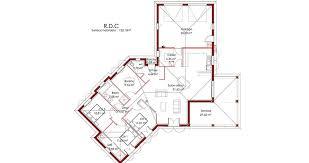 plan de maison de plain pied avec 4 chambres plan de maison plein pied avec garage