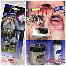 rigid collodion spirit halloween graftobian make up philippines home facebook