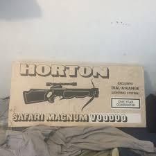 horton safari magnum crossbow n o s vintage crossbow safari