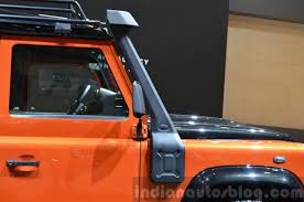 land rover defender 2015 special edition land rover defender adventure edition 2015 geneva live