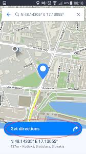 Coordinates Map Navigating To Gps Coordinates Sygic Gps Navigation For Android