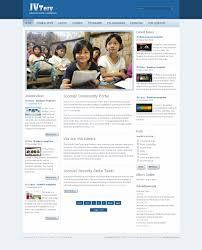 joomla education templates jv tery premium joomla education template