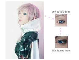 light blue cosplay contacts circle lens review eos dolly eye blue