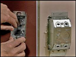 how to install an electrical box where there is no stud