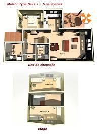 chambre des proprietaires chambre enfant exemple interieur maison villa gers pour location