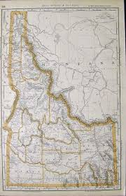 Idaho Falls Map Prints Old U0026 Rare Idaho Page