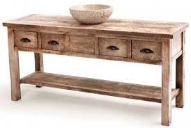 Reclaimed Wood Vanity Table Vanity With Shelf Custom Made Sizes Reclaimed Solid Woods