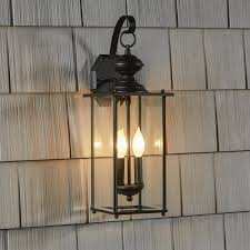 Exterior Wall Sconce Three Posts Amberley 2 Light Outdoor Wall Lantern Reviews Wayfair