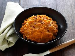 chipotle smashed sweet potatoes recipe alton brown food network