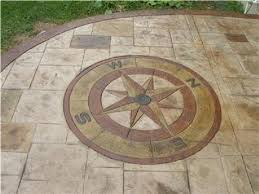 Patio Concrete Designs Stamped Concrete Ideas Stamped Concrete Patio Designs Calico