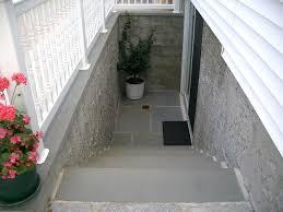 exterior basement entrance ideas outside basement door systems
