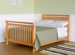 Baby Cribs 4 In 1 Convertible Davinci Emily 4 In 1 Convertible Baby Crib In Oak W Toddler Rail