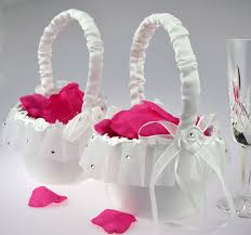 wedding baskets flower basket for wedding wedding corners