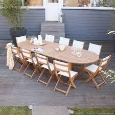 Maison Du Monde Table De Jardin by Salon De Jardin Acacia Carrefour U2013 Qaland Com