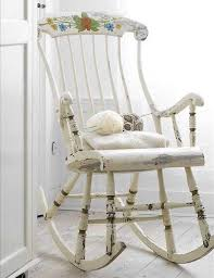 Shabby Chic Chair Pads by Shabby Chic Rocking Chair Design Home U0026 Interior Design
