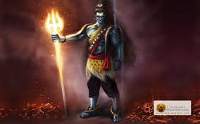 angry lord shiva meditation stylish hd wallpaper lighting