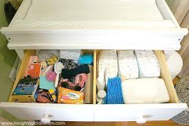 Diapers Changing Table How To Organise A Baby Change Table Laughing Learn