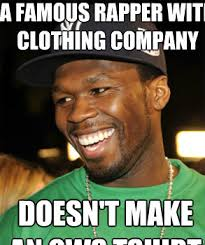 Tshirt Meme - a famous rapper with clothing company doesn t make an ows tshirt