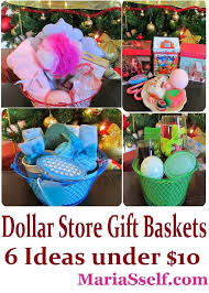 inexpensive gift baskets dollar store craft gift baskets from dollar tree spa