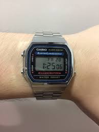 casio a168 casio a168 faint display