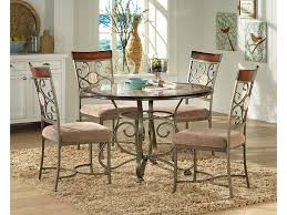 Steve Silver Dining Room Furniture Steve Silver Thompson Stev Grp Tp450 Tbl 4 Dining Table With Metal