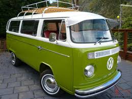 volkswagen kombi mini vw kombi microbus deluxe restored van vintage retro surf bus