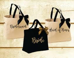 bridesmaid tote bags personalized bridal tote bag bridesmaid tote bag of