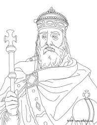 charlemagne coloring page helpful early learning work sheets for