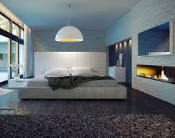 White Leather Bedroom Furniture Modloft Thompson 5 White Leather Bedroom Set Beyond Stores