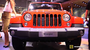 jeep wrangler sunset orange 2015 jeep wrangler crd diesel exterior and interior walkaround