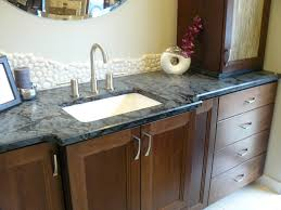 Custom Kitchen Cabinets Seattle Light And Dark Blue Granite Countertop The Versatility Of The