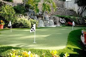 Artificial Backyard Putting Green by Artificial Grass Putting Greens Nomow Turf