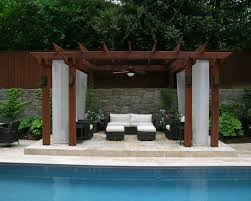 Pool Pergola Designs by Brilliant Pool Design In Your Home Modern Home Designs