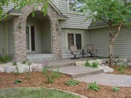 landscape ideas for front of house sidewalk backyard fence ideas