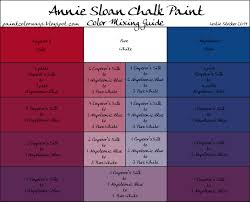 annie sloan color mixing calculator painted furniture