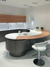 meuble cuisine arrondi la cuisine arrondie dans 41 photos pleines d idées ilot central