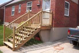 Wooden Stairs Design Outdoor Outdoor Wooden Stair Railing Designs Stair Design