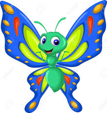 free butterfly clipart for preschool collection