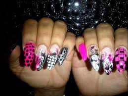 rockstar nails rihanna nail designs video