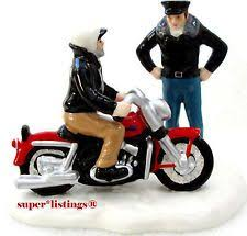 department 56 original snow harley davidson collection www