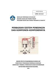 106467565 perbaikan sistem pendingin dan kompoen komponennya