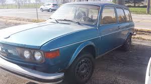 volkswagen squareback blue 1974 volkswagen 412 squareback complete project used