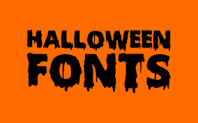 friday fresh free fonts scary halloween young frankenstein